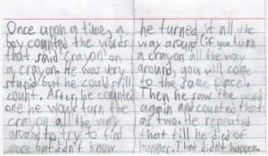 Crayon story inside