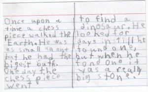 chess story inside