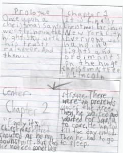 holiday santa trouble story inside #1